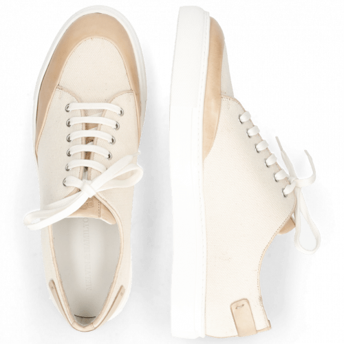 Sneakers Harvey 19 Natural Canvas Off White