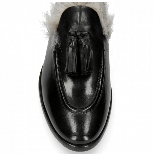 Mocassins Clint 6 Black Tassel