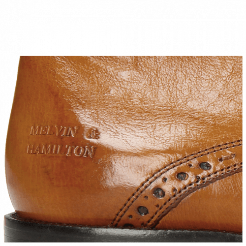 Bottines Jeff 7  Remo Cognac Loop Peru