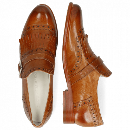 Monks Selina 2 Pavia Tan Strap Tan Collar