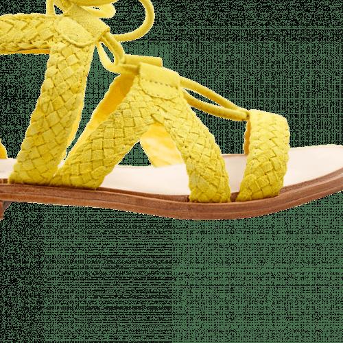 Sandales Sandra 11 Suede Mimosa LS