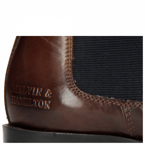 Bottines Marlin 4 Mogano Elastic Navy