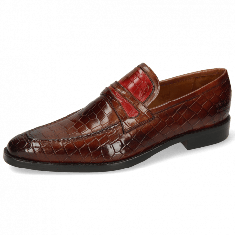 Mocassins Leonardo 16 Crock Wood Ruby