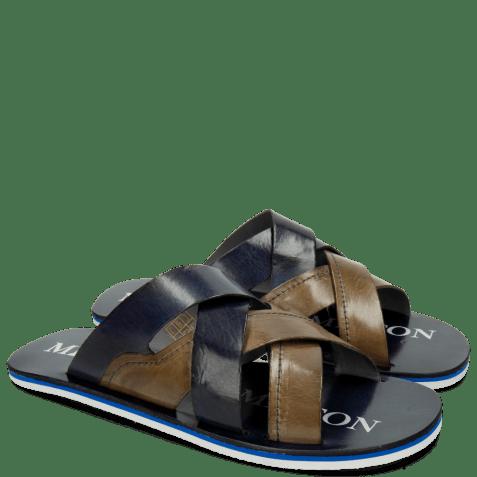 Sandales Sam 12 Oxygen Moroccan Blue