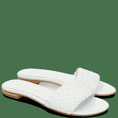 Mules Hanna 26 Woven White