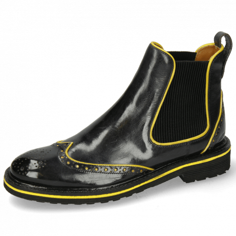 Bottines Amelie 43 London Fog Fluo Yellow