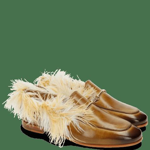 Mocassins Scarlett 1 Cashmere Top Line Feather