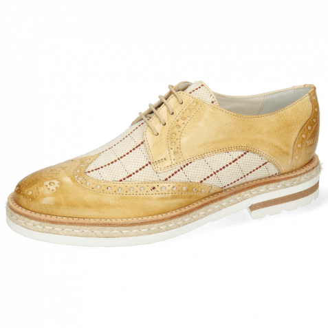 Derbies Amelie 3 Imola Beige Line Natural