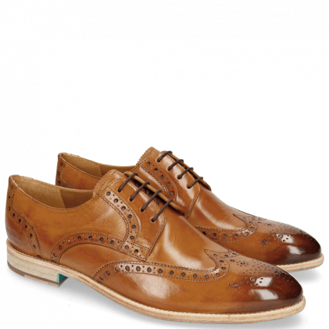 Derbies Bobby 5 Washed Tan