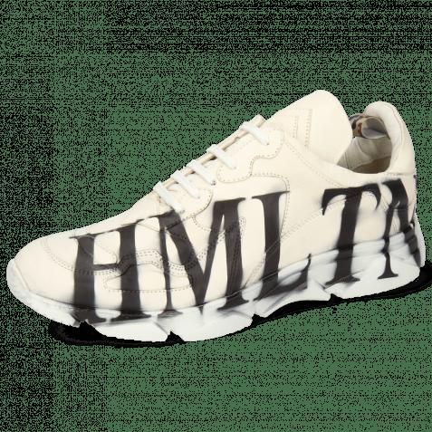 Sneakers Kobe 1 Imola White Wide Outside Screen Print