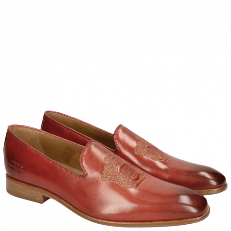 Mocassins Prince 2 Red Gold Finish