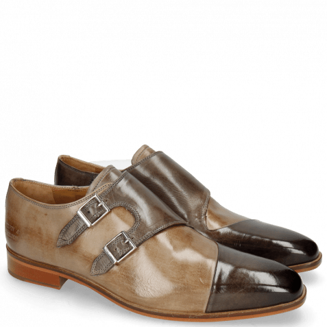 Monks Lance 34 Grigio Lining Rich Tan
