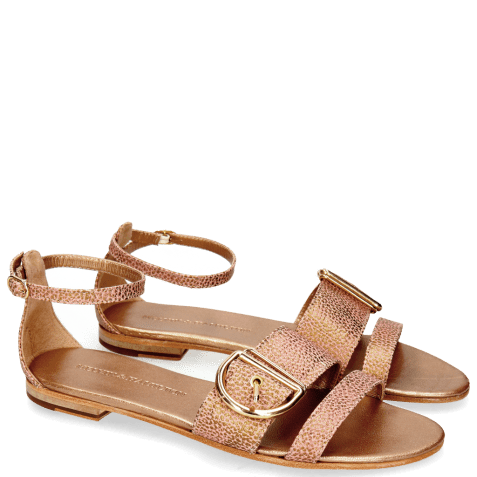 Sandales Hanna 35 Grafi Bronze Buckle Gold