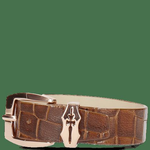 Bracelets Stark 1 Crock Tan Sword Buckle