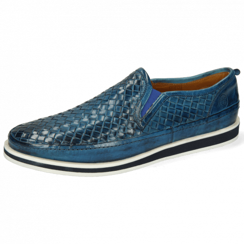 Mocassins Harry 2 Woven Mid Blue
