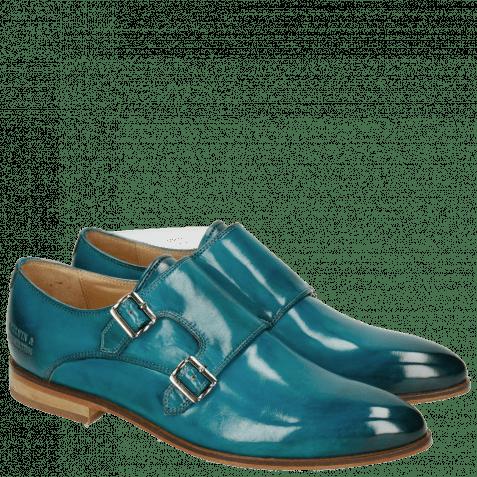 Monks Jessy 7 Crust Turquoise LS