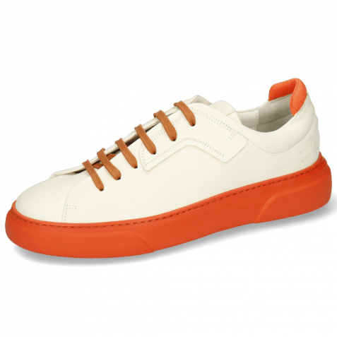 Sneakers Harvey 35 Vegas White Lycra Orange