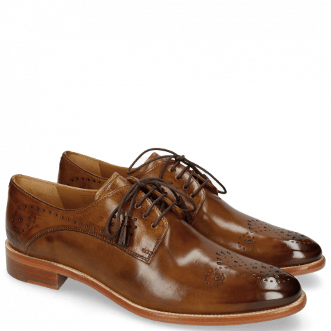Derbies Betty 2 Nougat Tassel Dark Brown