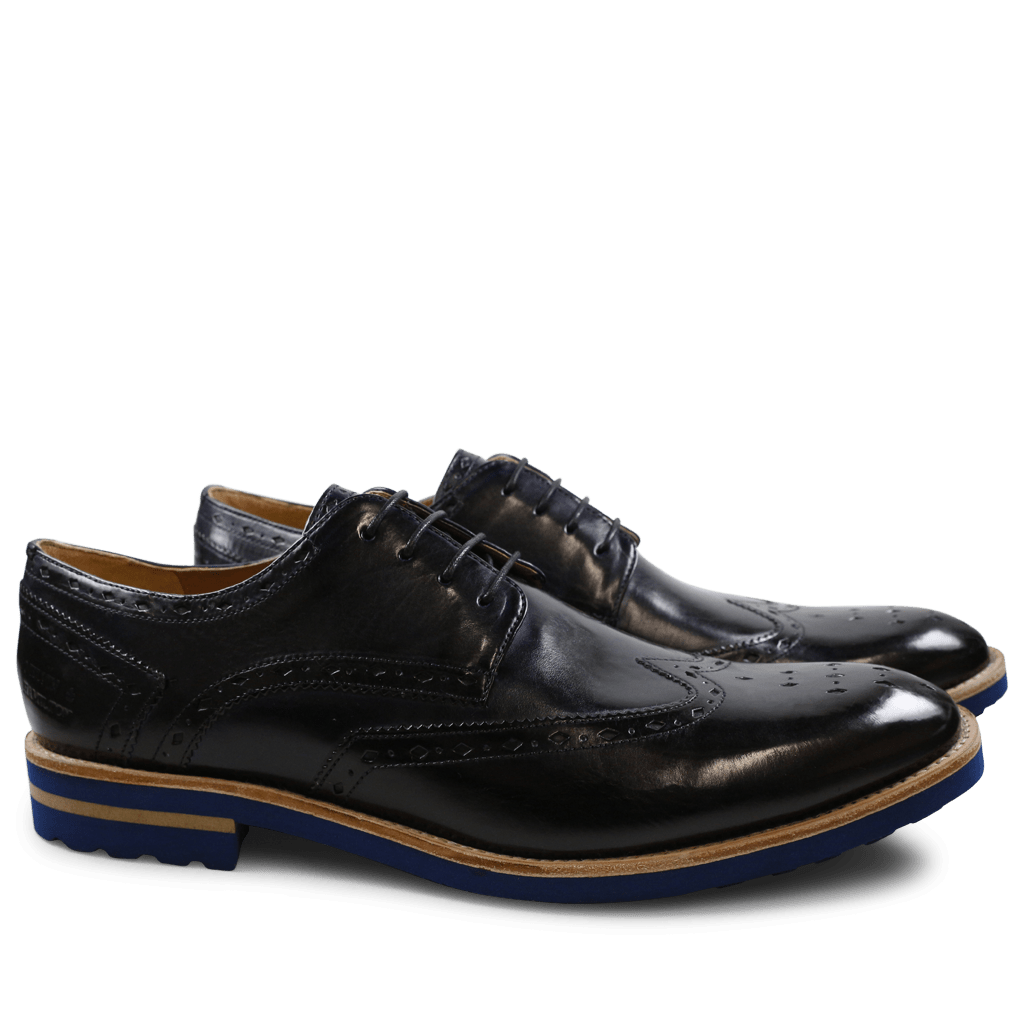Derbies Eddy 5 Crust Navy Aspen Blue