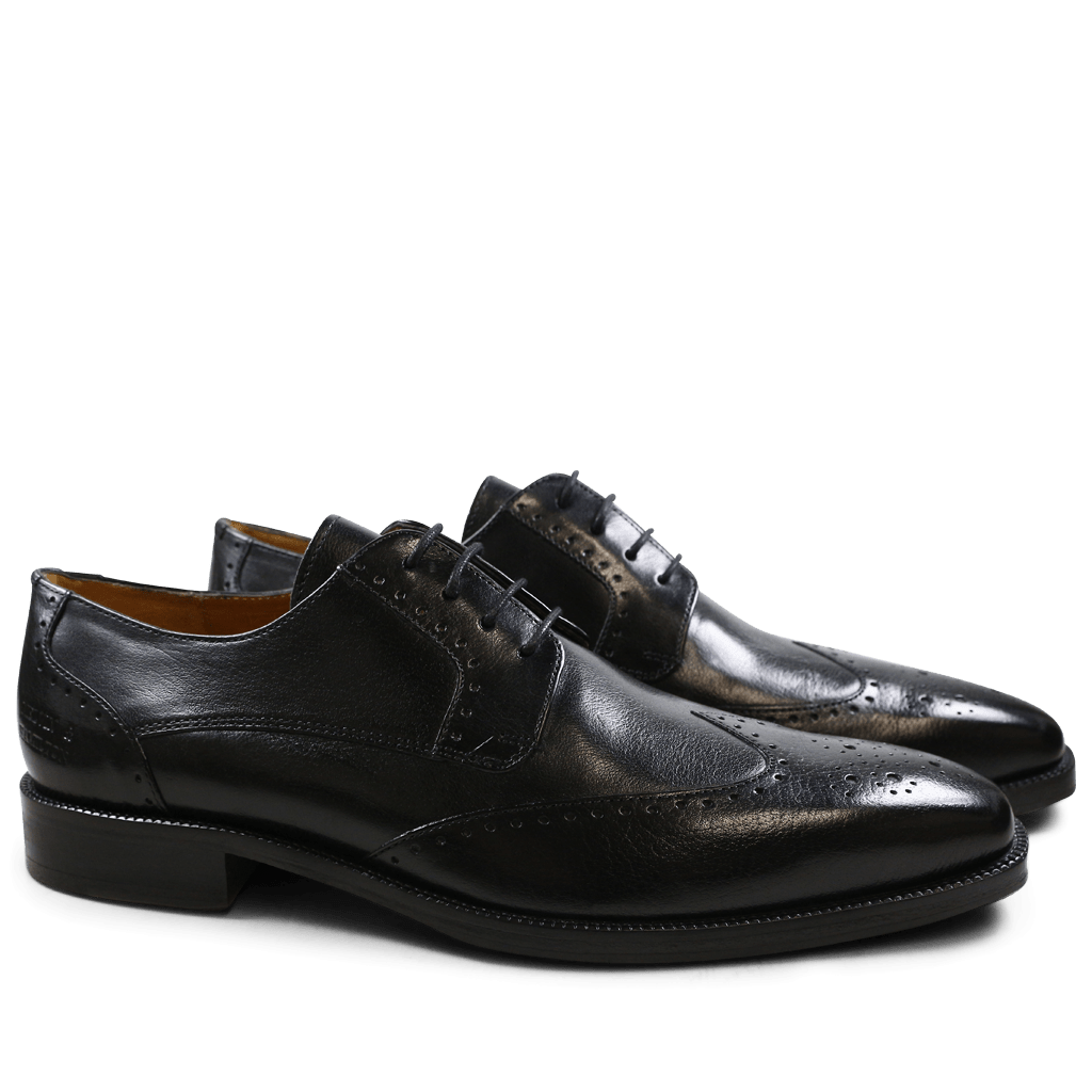 Derbies Jeff 14 Black HRS