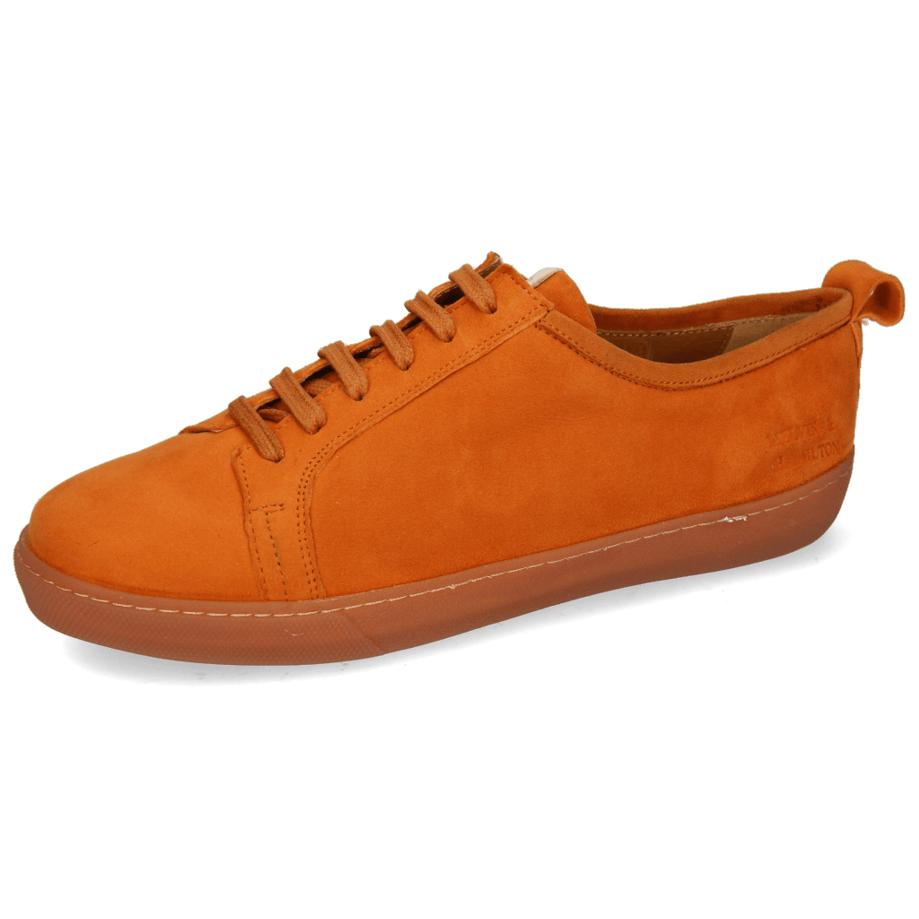 Sneakers Amber 1 Sheep Suede Orange Patch