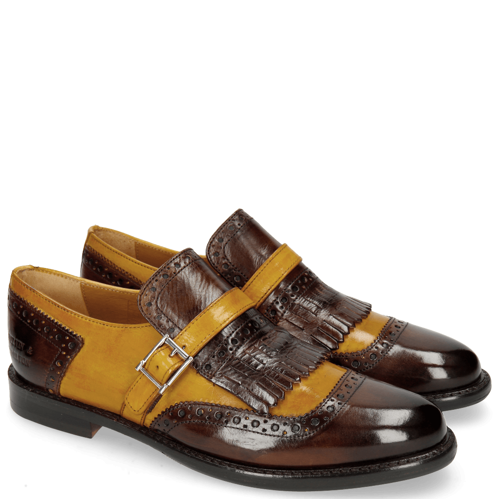 Monks Selina 2 Mid Brown Ocra