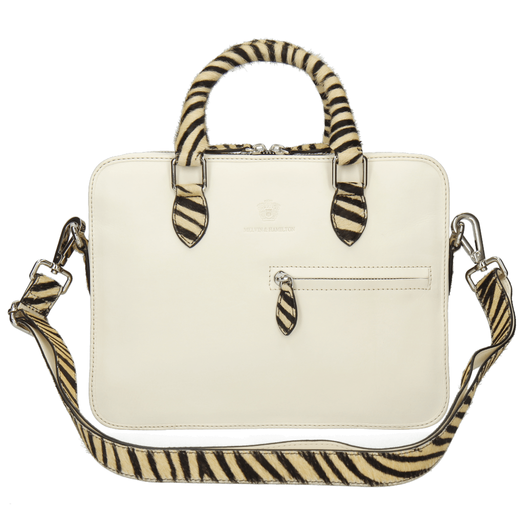 Sacs à main Vancouver Vegas White Hairon Zebra