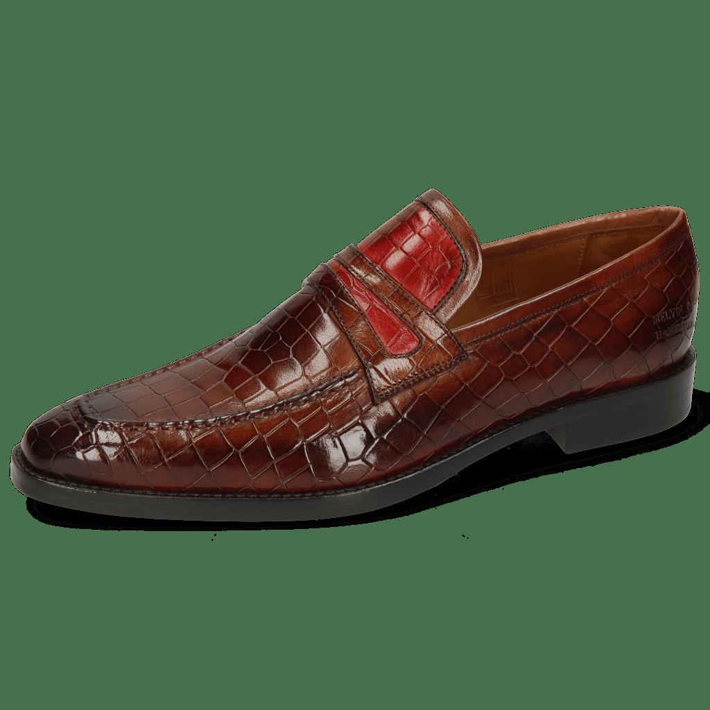Mocassins Leonardo 16 Crock Wood Ruby