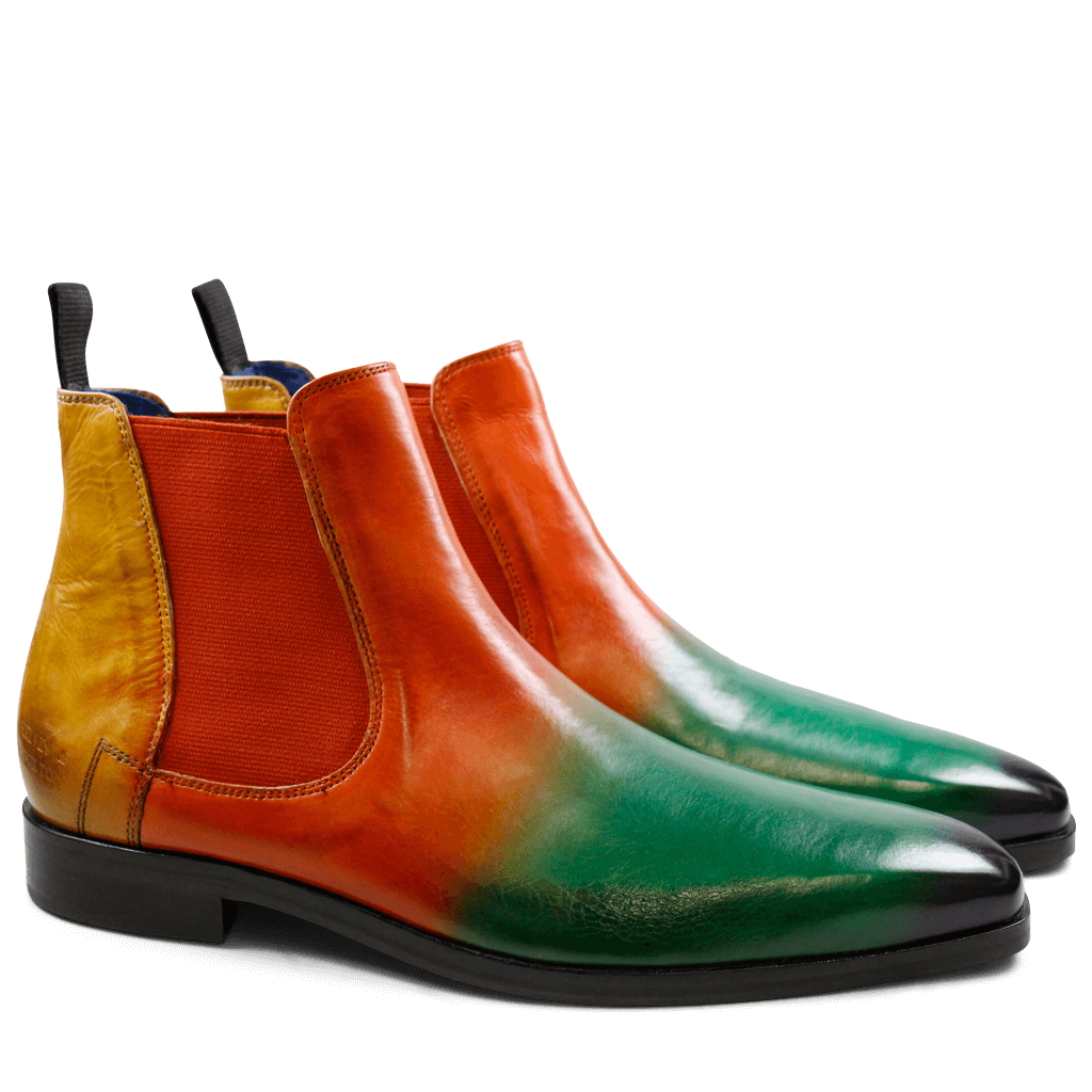 Bottines Lewis 20 Crust Shade Electric Viola Electric Green Electric Orange Electric Yellow Elastic Orange LS