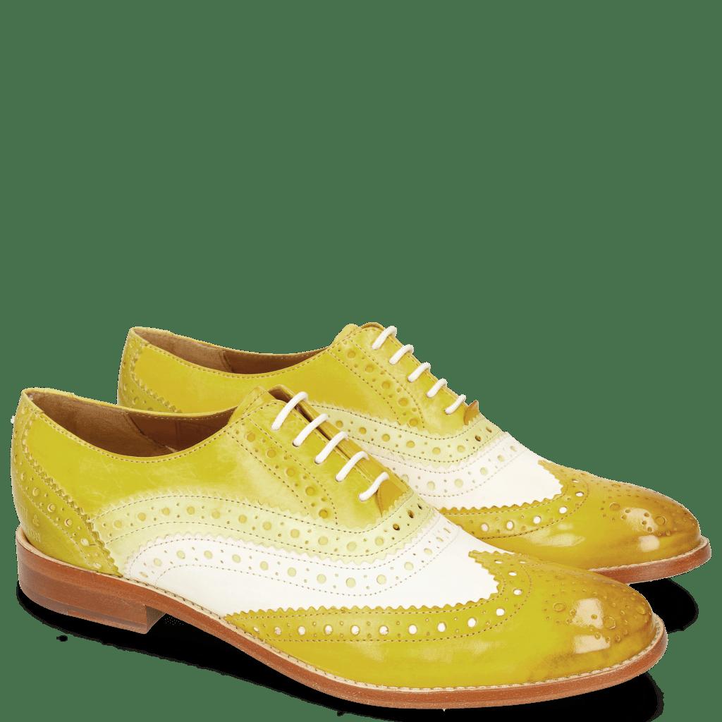 Richelieu Amelie 10 Vegas Yellow White Cedro Sun