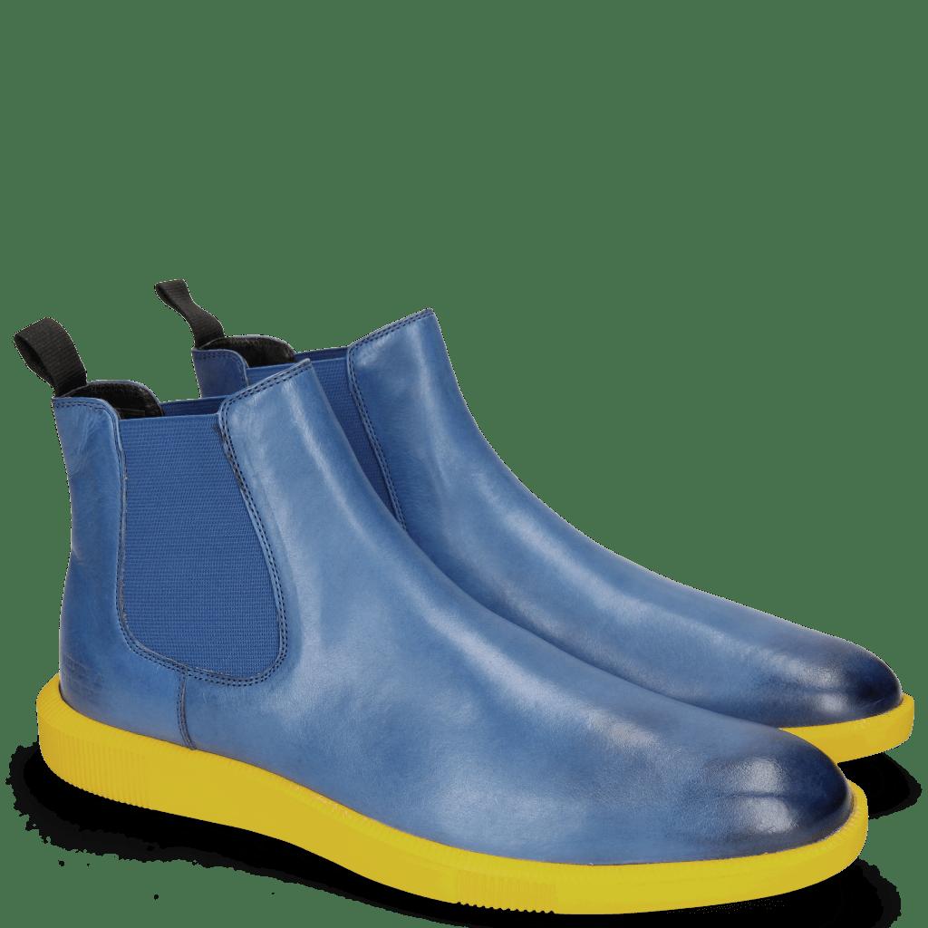 Bottines Newton 3 Franky Electric Blue