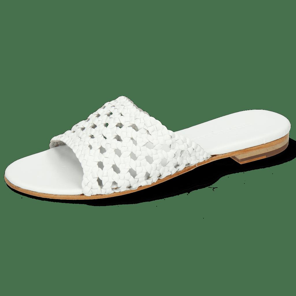 Mules Hanna 5 White
