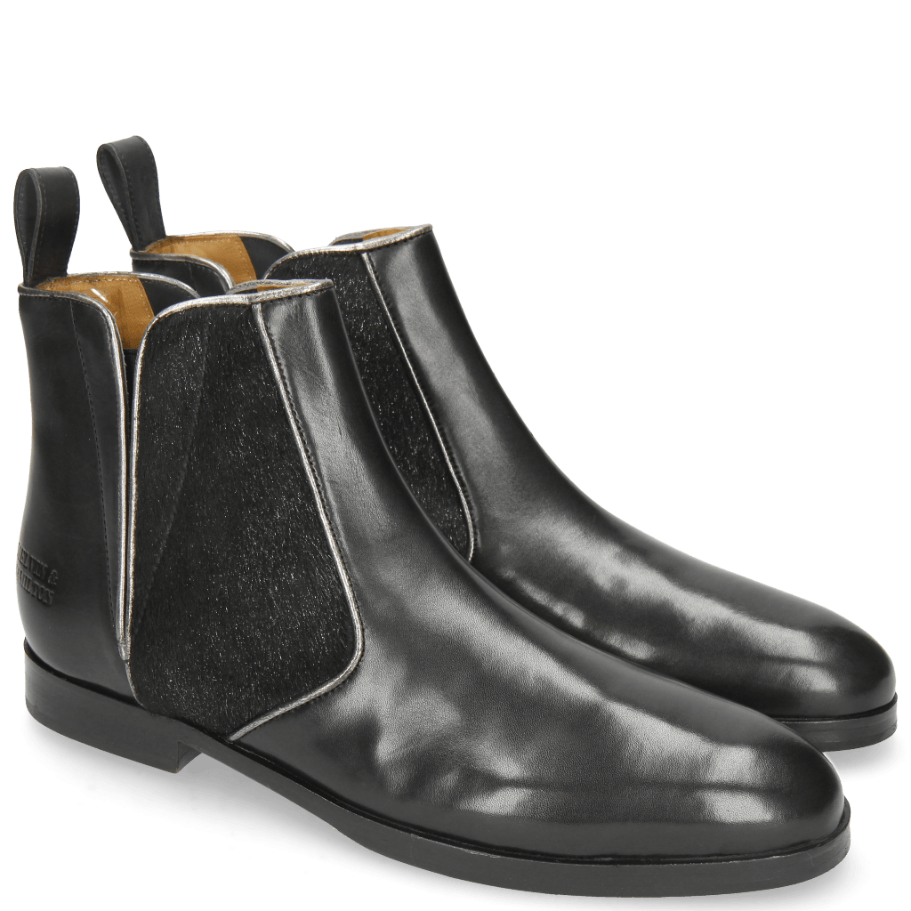 Bottines Susan 34 Black Hair On Breeze