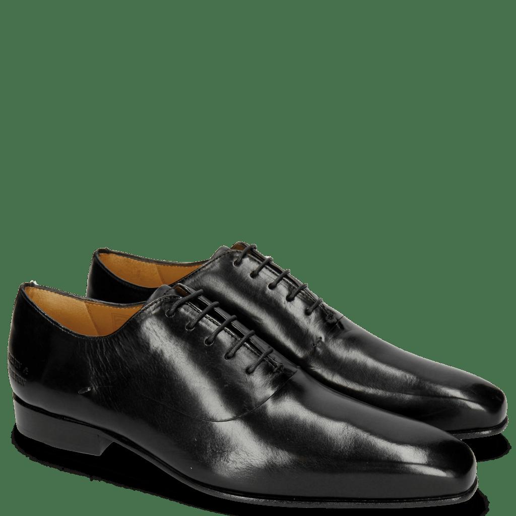 Richelieu Lewis 42 Black LS Thin Black