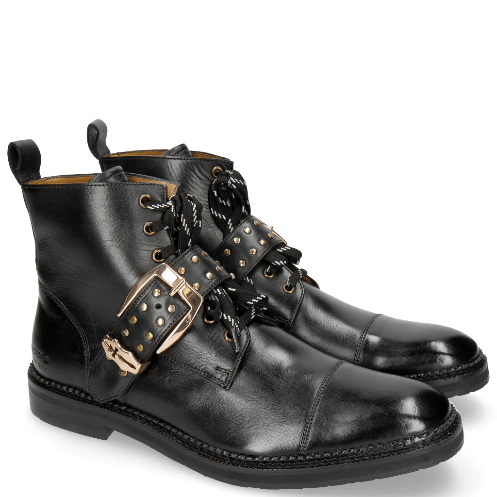 Bottines Eddy 40 Black Accessory Gold