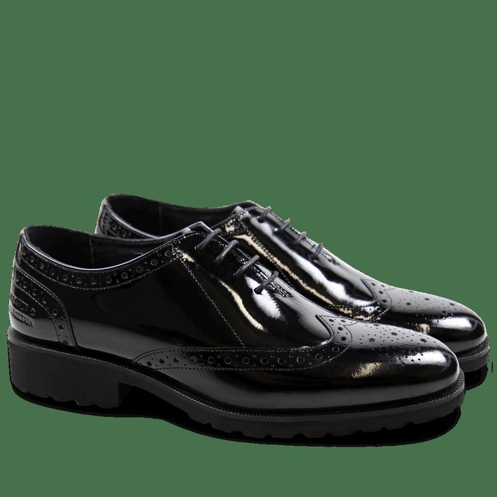 Richelieu Mila 9 Patent Black WL Black