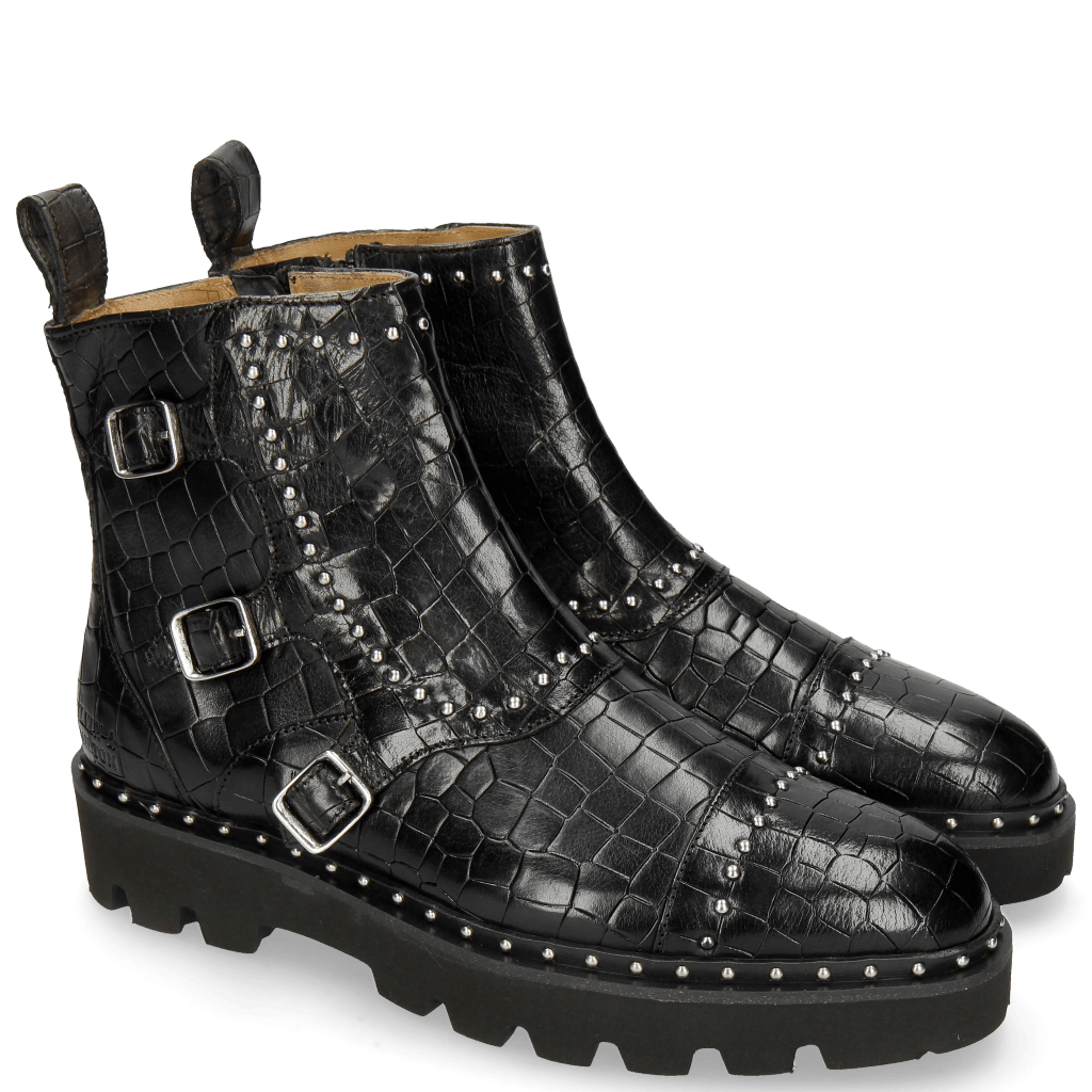 Bottines Susan 45 Crock Black Loop