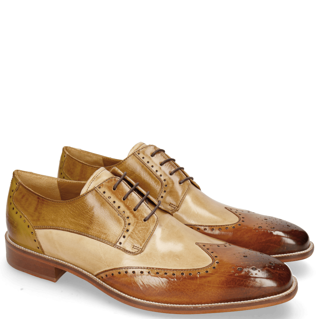 Derbies Jeff 14 Tan Nude Cashmere Nougat Olivine