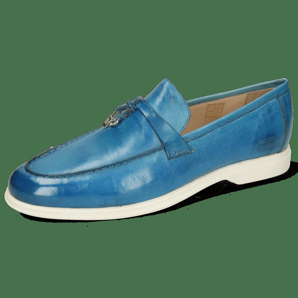Mocassins Earl 3 Pisa Bluette