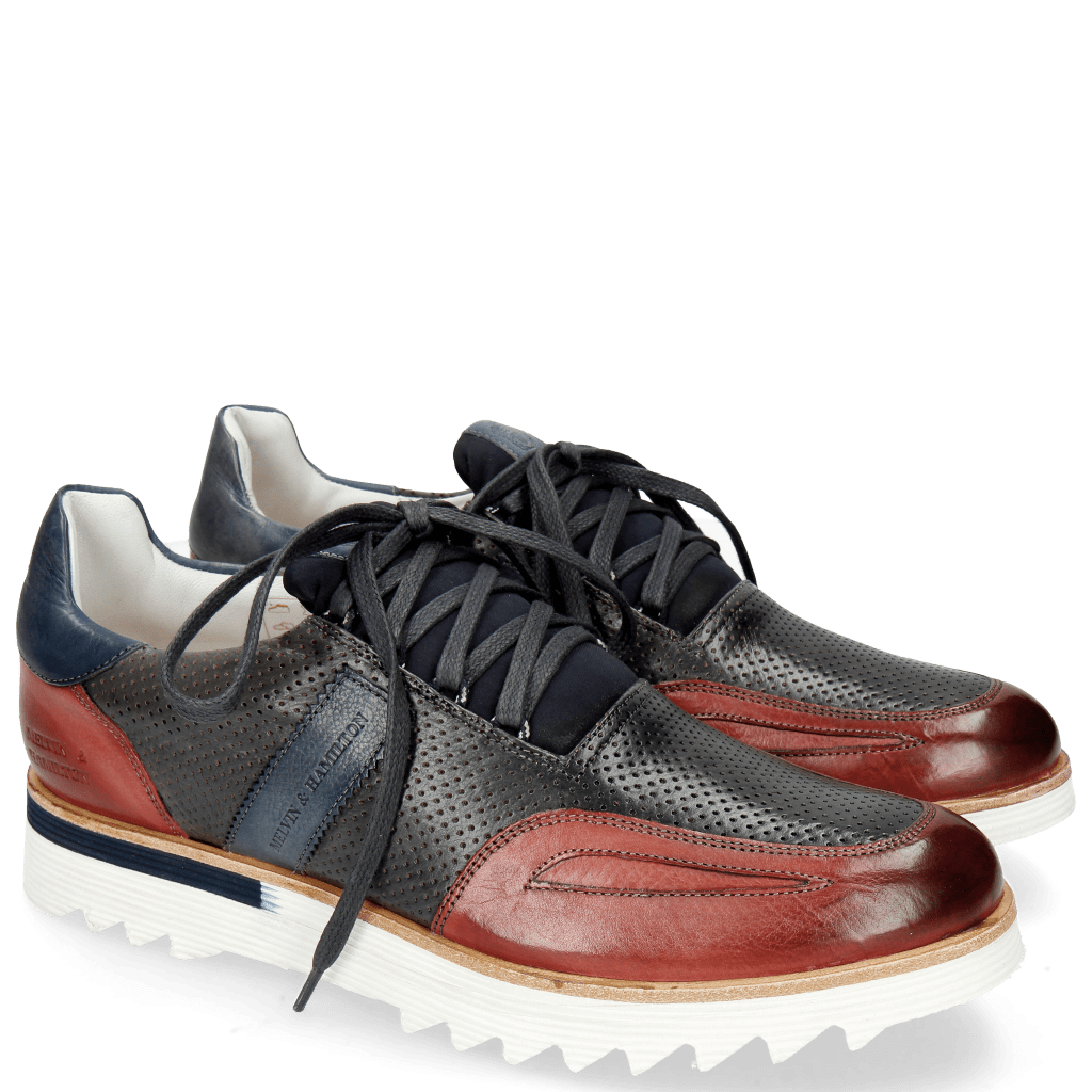Sneakers Hank 2 Milano Red Perfo London Fog