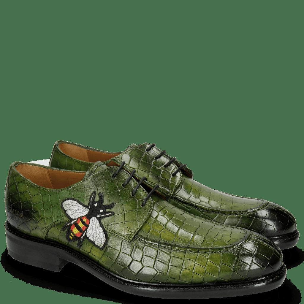Derbies Parker 1 Crock Ultra Green