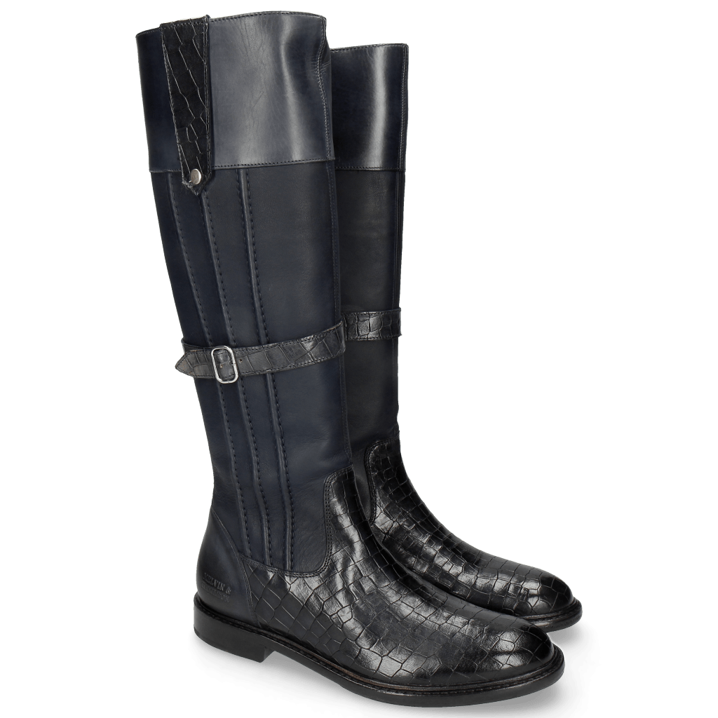 Bottes Sally 86 Crock Talca Navy
