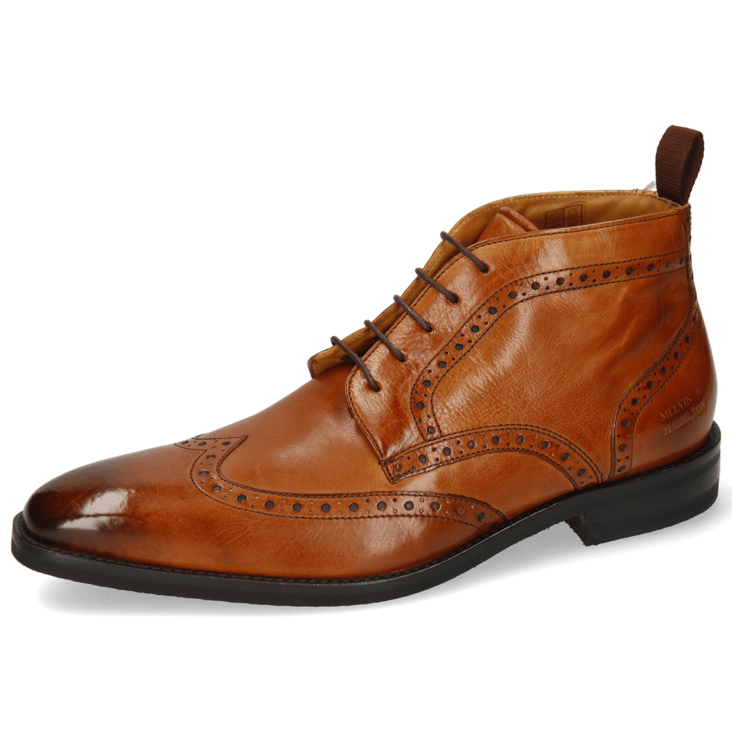 Bottines Freddy 8 Remo Tan Lining Textile