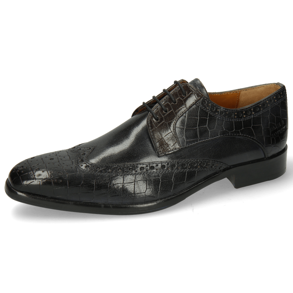 Derbies Lewis 3 Crock London Fog Deep Steel