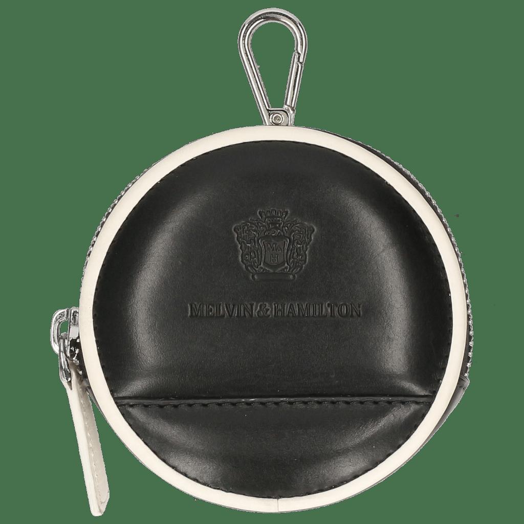Porte-monnaie Penny Vegas Black Binding White