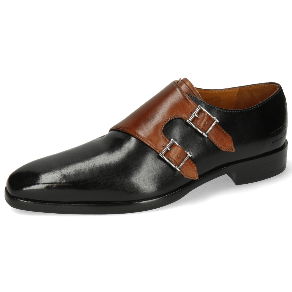 Monks Lance 48 Black Wood Lining Nappa