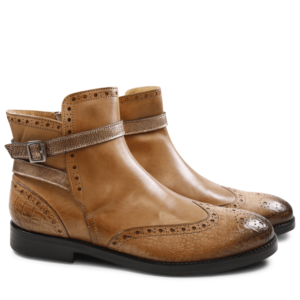 Bottines Amelie 11 Light Rose Strap Aztek Rose Gold