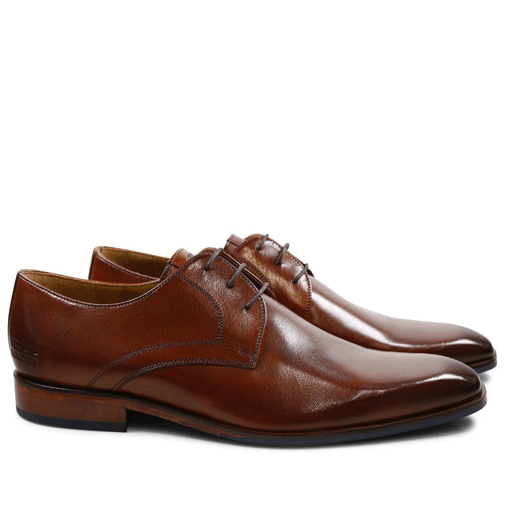 Derbies Xander 1 Venice Wood HRS Navy