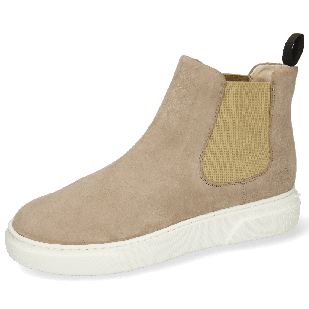 Bottines Hailey 2 Sheep Suede Elephant Elastic Beige