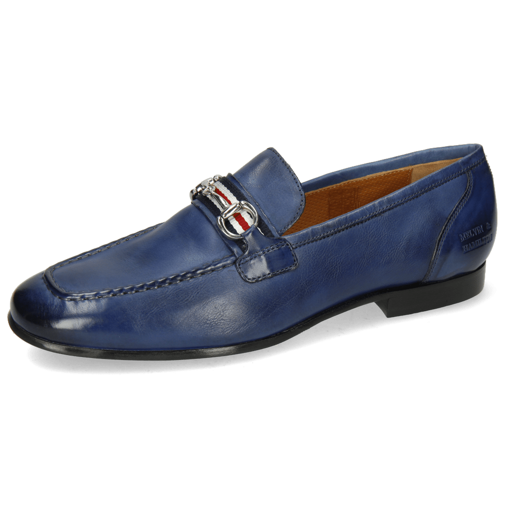 Mocassins Clive 16 Imola Navy Strap French